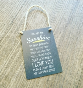 My Sunshine Gift Plaque
