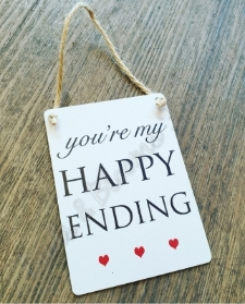 Happy Ending Gift Plaque