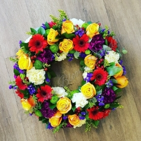 Bold Loose Wreath