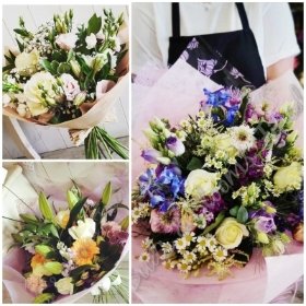 Bouquet a Month for 6 Months