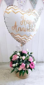Florist's Choice Hat Box and Balloon