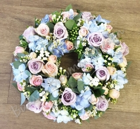 Pastel Loose Wreath
