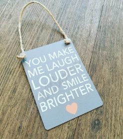 Smile Brighter Gift Plaque