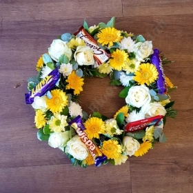 Sunshine Chocolate Wreath